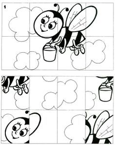 *  Kleuren, plastificeren, puzzelen. TIP: activiteit puzzel maak hem zelf moeilijker!