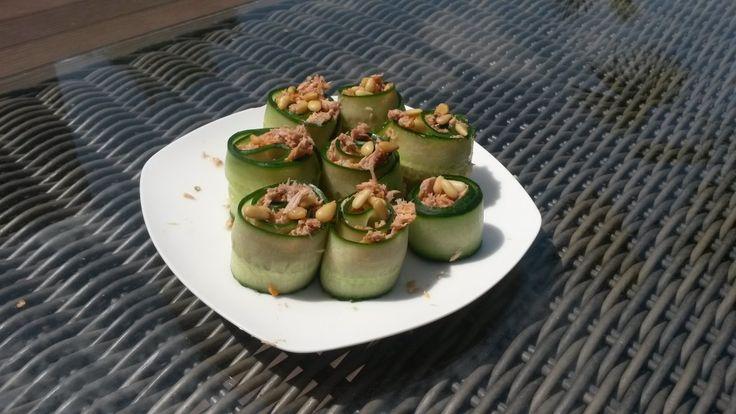 Recept: Supersnelle Komkommersushi