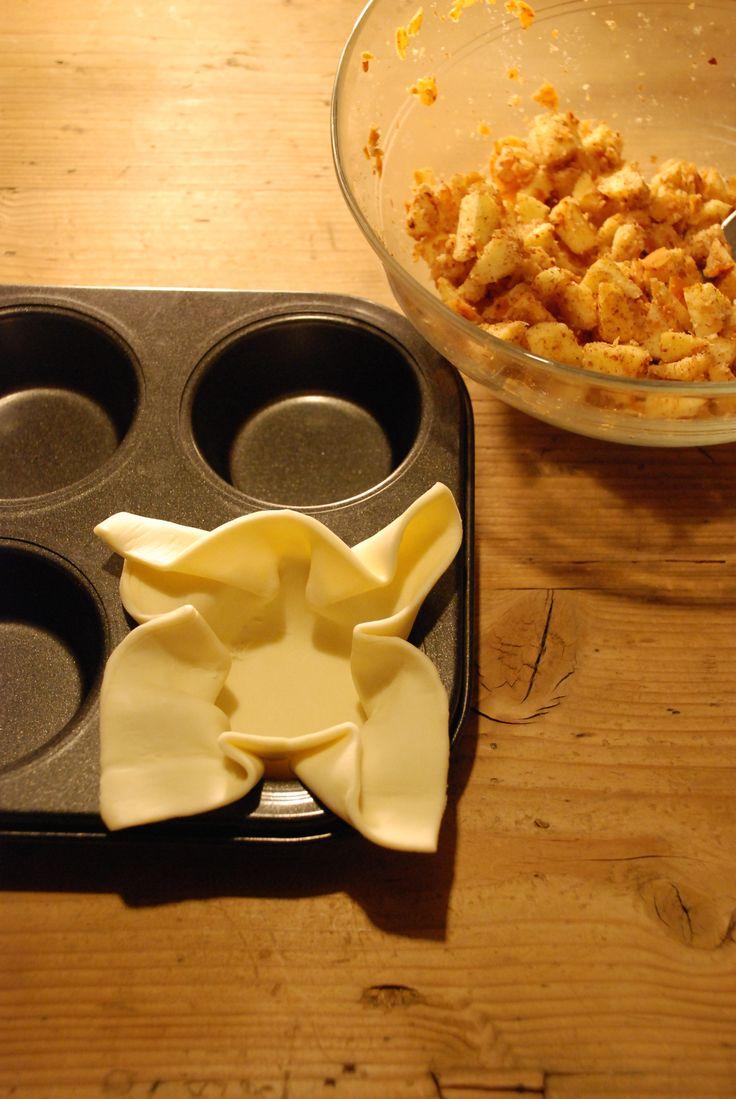 Rezept - Mini Apfel Strudel!  http://barfussimnovember.com