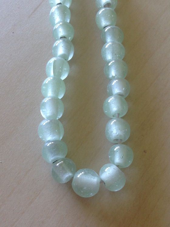 Indonesian handmade glass beads