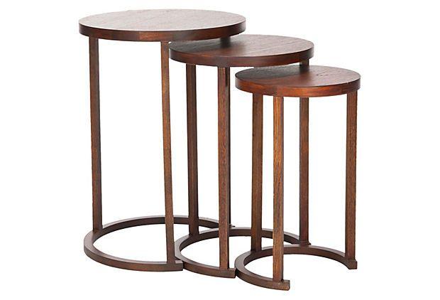 Sawyer Stacking Tables, Set of 3 on OneKingsLane.com