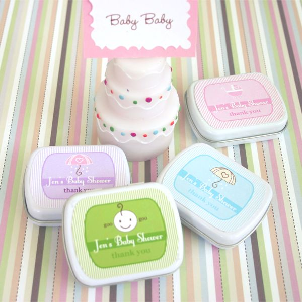 Baby Shower Mint Tins. $1.25