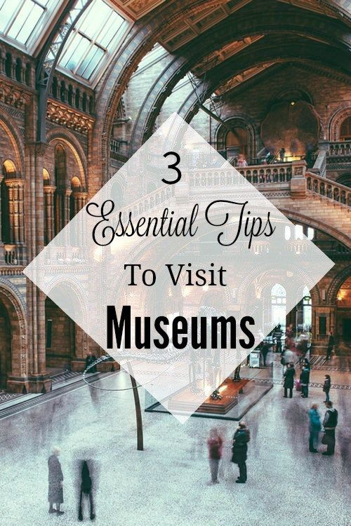 3 Essential Tips To Visit Museums Quickly - World By Isa