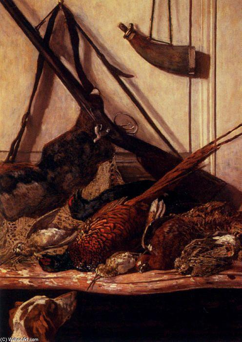 Acheter Tableau 'des trophées de l' chasse' de Claude Monet - Achat d'une reproduction sur toile peinte à la main , Reproduction peinture, copie de tableau, reproduction d'oeuvres d'art sur toile