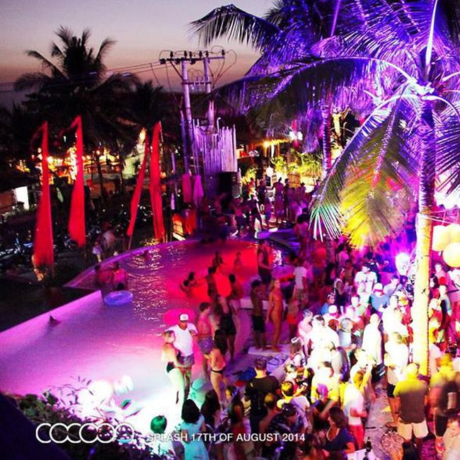 SPLASH: Next one is Sunday 19th of October. VIP area with full bottle service is booking out fast... email: reservations@cocoon-beach.com for more information or to book