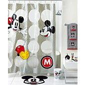 Disney Bath Accessories, Disney Mickey Mouse Shower Curtain