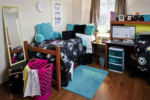 Freshman College Dorm Room Essentials & Checklists  ~ 161737_Dorm Room Ideas Walmart