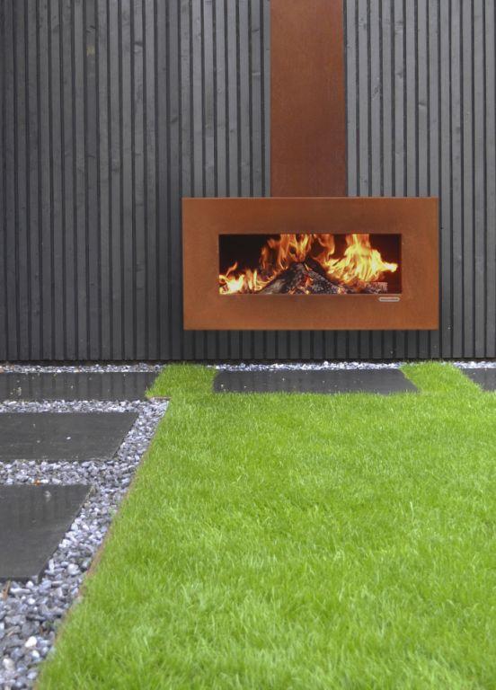 Zeno Products buitenhaard Retto Libero - Product in beeld - - Kachel, open haarden ideeën | UW-haard.nl