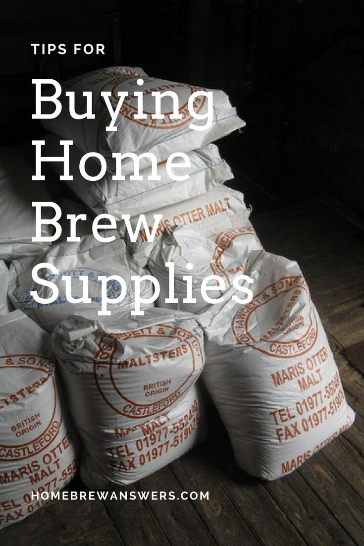 Tips for buy home brew supplies to make brewing beer cheaper.