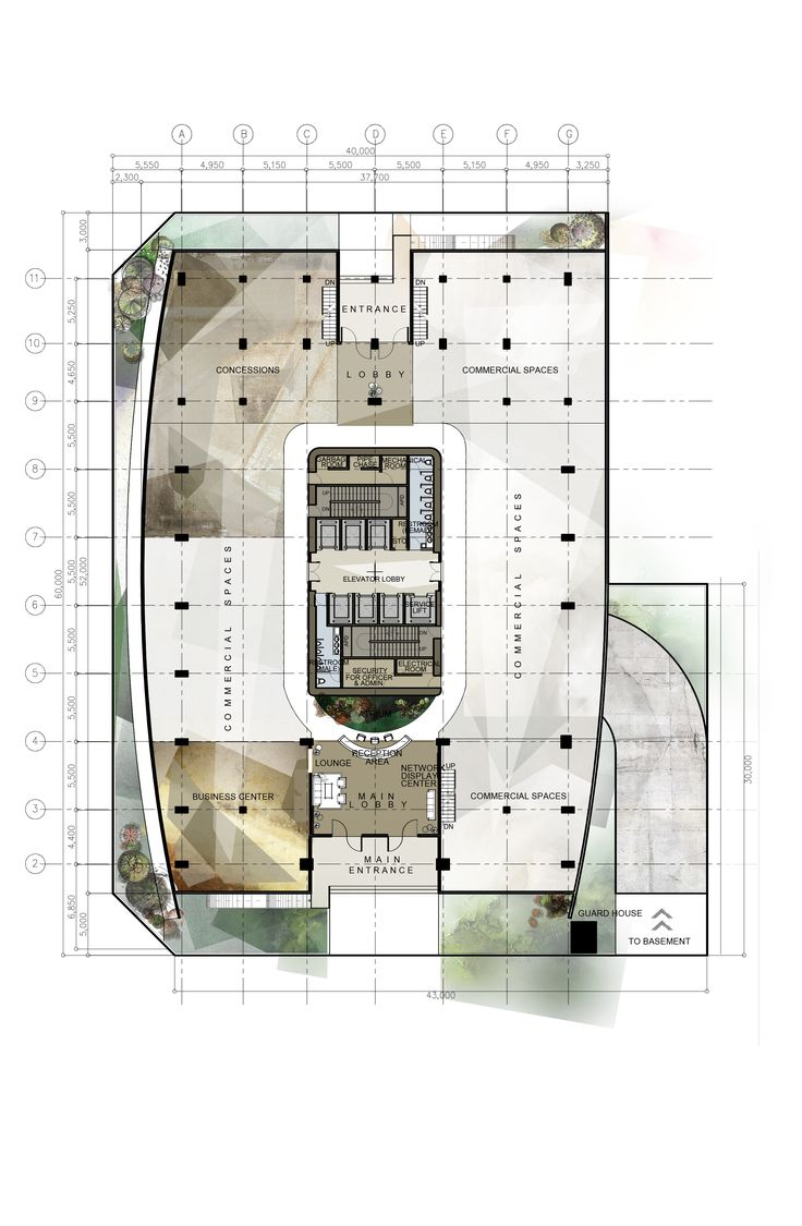 Design 8 proposed corporate office building high rise building architectural layouts