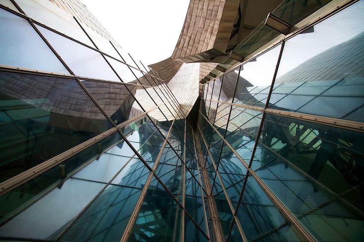 Bilbao, Spain. November 2014. Guggenheim Museum Bilbao.
