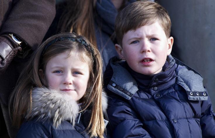Los príncipes Christian e Isabella, hijos de Federico y Mary de Dinamarca #royals #denmark #prince #royalty