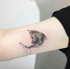 Adorable Dog Tattoo by Hongdam