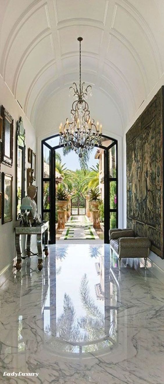 Million Dollar Interiors- Entryway | LadyLuxuryDesigns