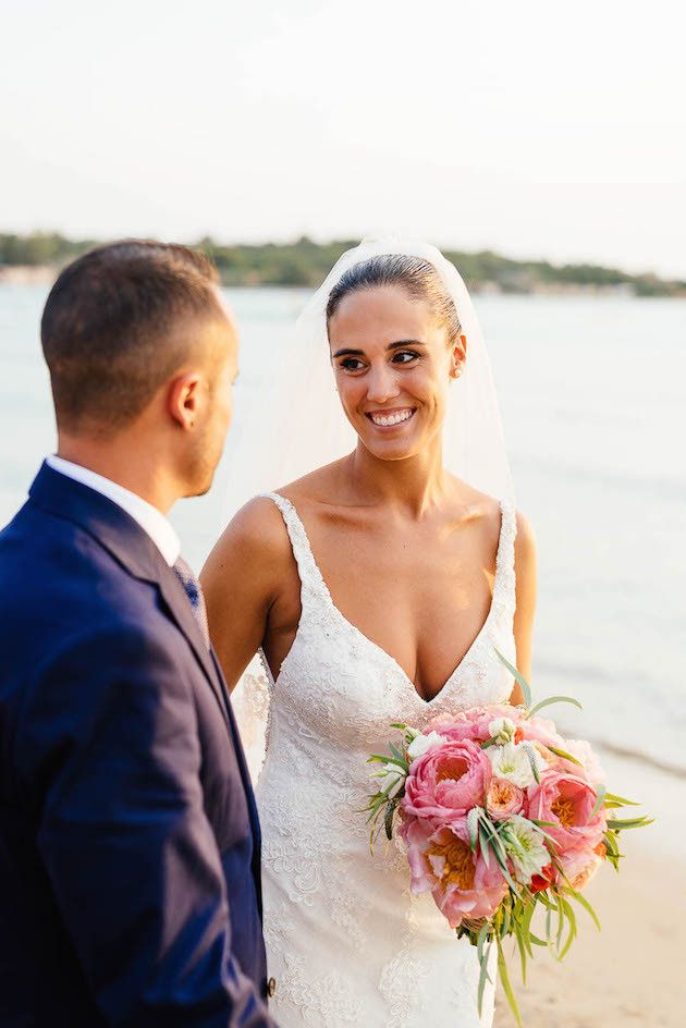 Beach Wedding in Greece | Elias Kordelakos Photography | Bridal Musings Wedding Blog