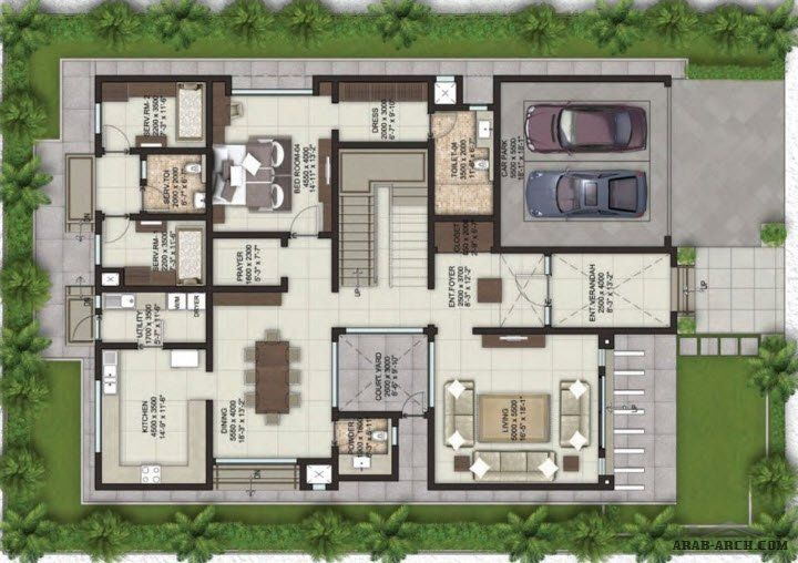 Floor Plans Villa Lifestyle Arab Arch Floor Plans Villa Plan Classic House Design