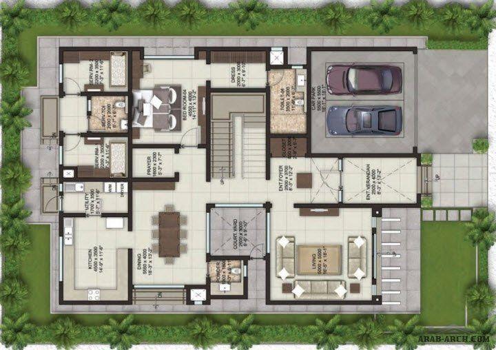 Floor Plans Villa Lifestyle Arab Arch Floor Plans Villa Plan Classic House Design