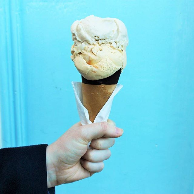 Fist ice-cream cone of the year