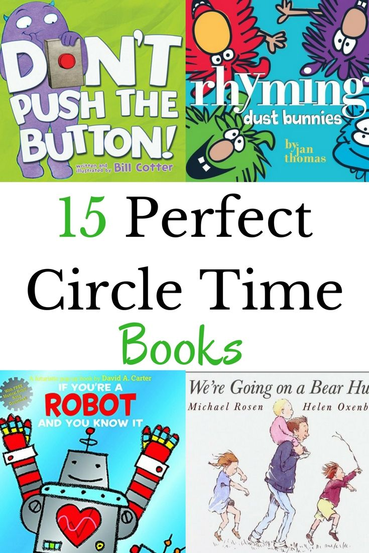 The best no-fail circle time books to read to kids during circle time. This list ticks all the boxes for what type of book works best for circle time.
