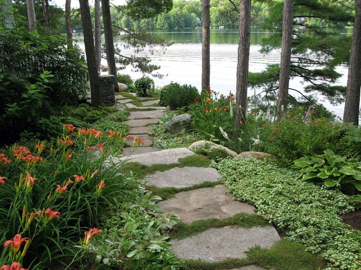 91 best images about lakeside landscapes on pinterest for Landscape design ontario