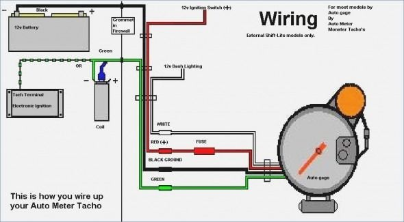 Tachometer Wiring Diagrams | Car gauges, Tachometer, DiagramPinterest
