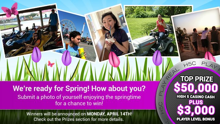 You should enter H5C Spring Fling. There are great prizes and I think one of us could win!