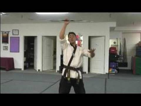 Martial Art Bo Staff Techniques : Bo Staff Palm Spin Techniques