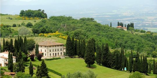 Villa Campestri Olive Oil Resort (Vicchio, Tuscany) - Conference Room: 50, Banquet Hall: 120, Number of Rooms: 25