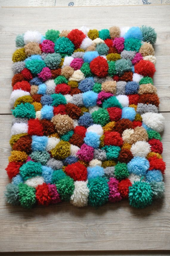 M s de 1000 ideas sobre alfombra de pom pom en pinterest Mas alfombrar