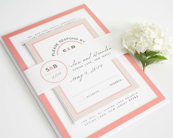 Wedding Invitations Coral Color: 17+ Best Ideas About Grey Wedding Invitations On Pinterest
