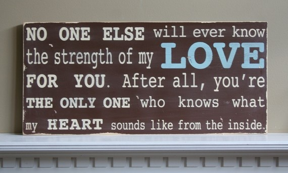 BEAUTIFUL motherhood quote. For the kids room