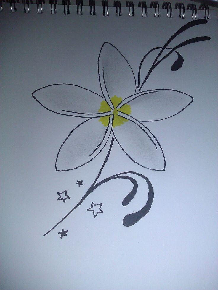 jasmine flower tattoo design 25 pinterest. Black Bedroom Furniture Sets. Home Design Ideas