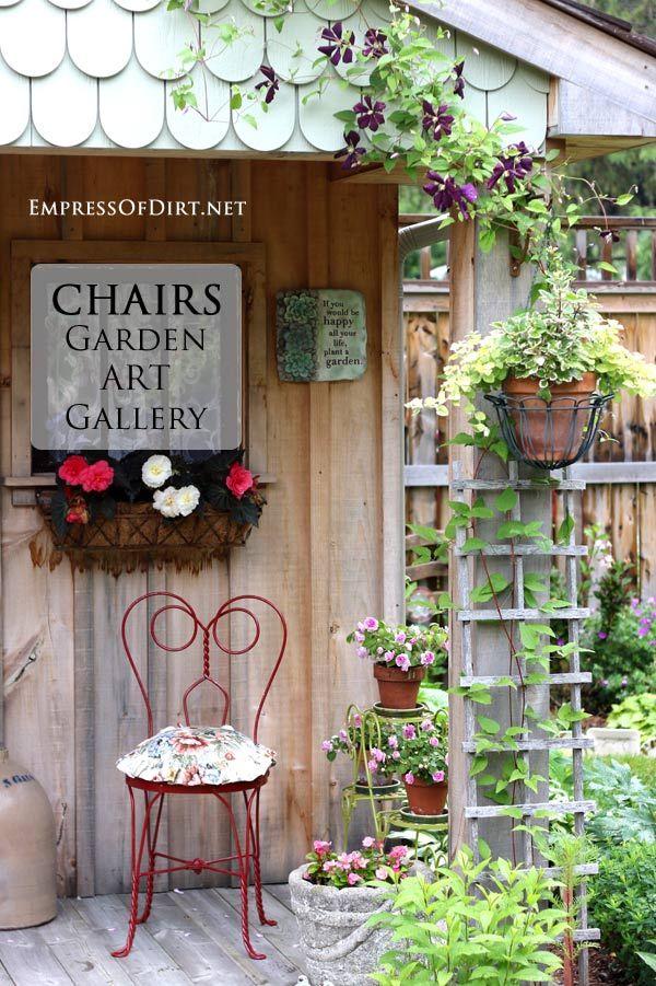Chairs - Garrden art gallery - Get ideas for your garden