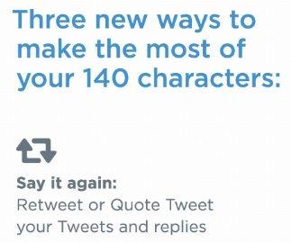Twitter terus berinovasi untuk mengatasi keterbatasan 140 karakter. Sebentar…