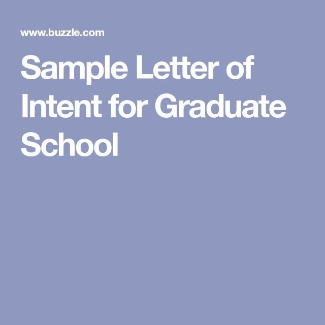 Best 25+ Letter of intent ideas on Pinterest Graduate school - national letter of intent