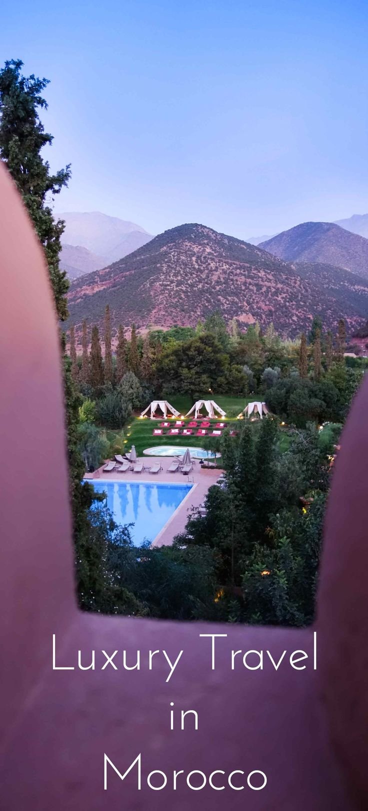 Calling all luxury travelers! Have I got some great travel advice for you. Have you been to Morocco? Might want to check out this post on my stay at Sir Richard Branson's Kasbah Tamadot, trust me, you'll want to go. Click through to check it out.