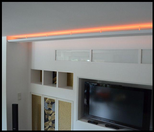 Nice Hochwertige Lichtvouten aus Gipskarton f r Indirekte Beleuchtung Gerne fertigen wir auch Lichtvouten nach Ihren Vorgaben