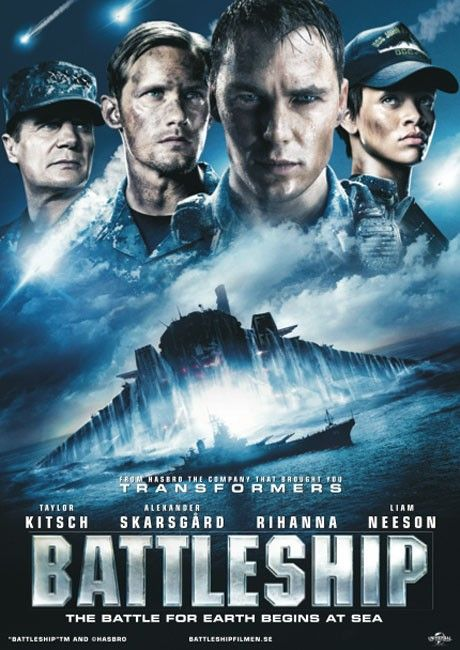 Battleship Movie this was a real surprise for me! Navy rules! all the men on my family on both sides who served including my dad were navy.