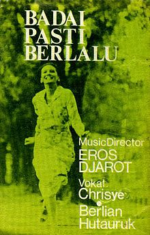 Album Badai Pasti Berlalu - Chrisye | Eros Djarot, Yockie Suryo Prayogo, Debby Nasution, Keenan Nasution, Fariz RM, Chrisye, Berlian Hutauruk | 1977