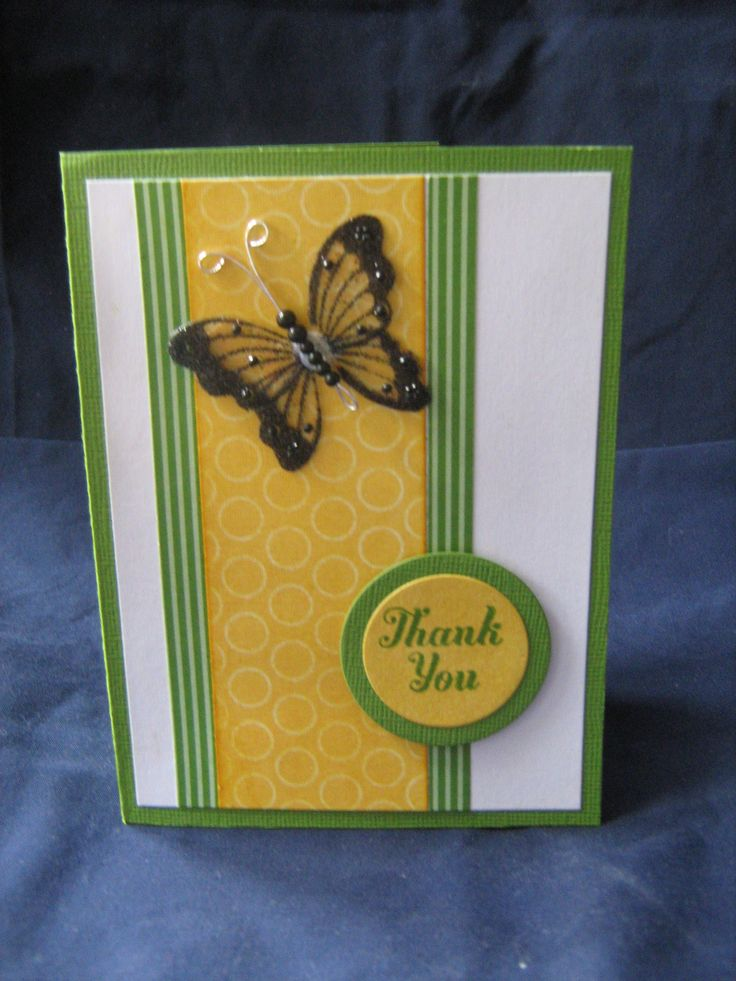 Stampin Up Gumball Green and Paper Xtra Spring Paper Pack & CTMH Have a Happy Day Stamp set