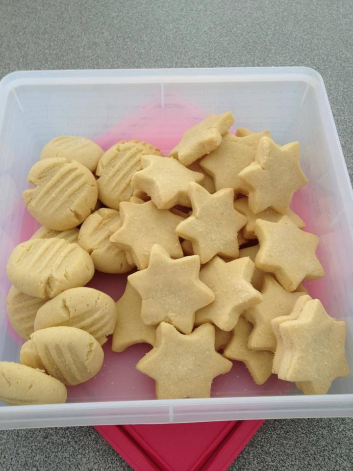 The Road to Loving my Thermomix: Shortbread