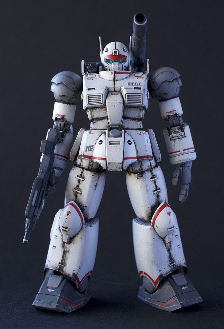 模型・プラモデル投稿コミュニティ【MG-モデラーズギャラリー】ガンプラ|AFV|ジオラマ| - ガンキャノン最初期型