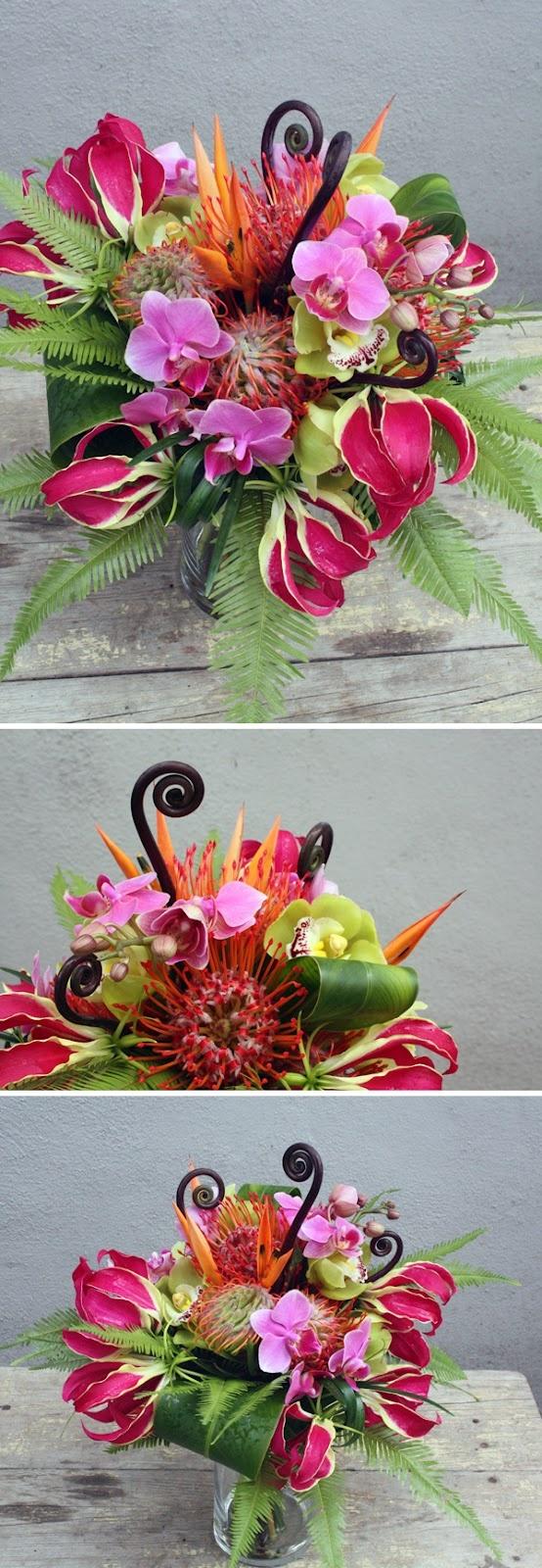 157 best flower arrangements images on pinterest flower brooke howsley vintage hawaiian bouquet izmirmasajfo Gallery