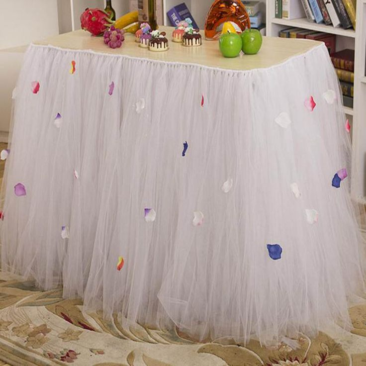 ==> [Free Shipping] Buy Best Baby Tulle TUTU Table Skirts Decorations a yard jupe de table mariage Table skirt Customized for Wedding Party Birthday Banquet Online with LOWEST Price | 32800009152