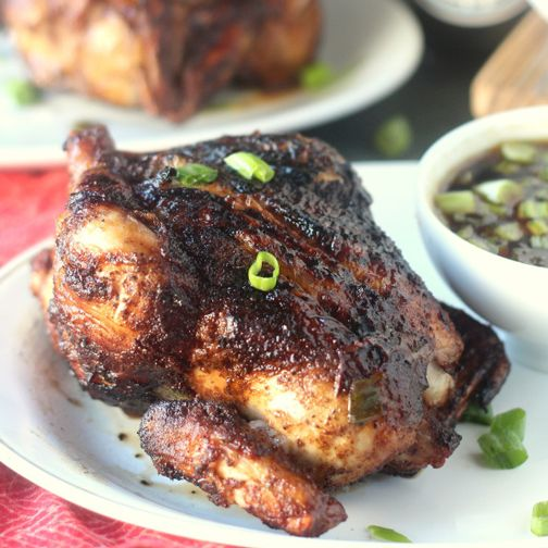 Five-Spice Grilled Cornish Hens with Mongolian Barbecue Sauce Recipe - RecipeChart.com