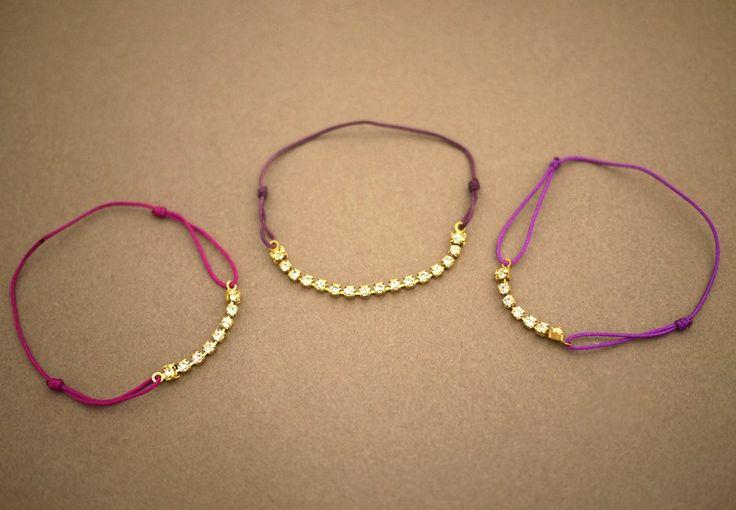 www.specchioedintorni.it braccialetto fai-da-te strass 03