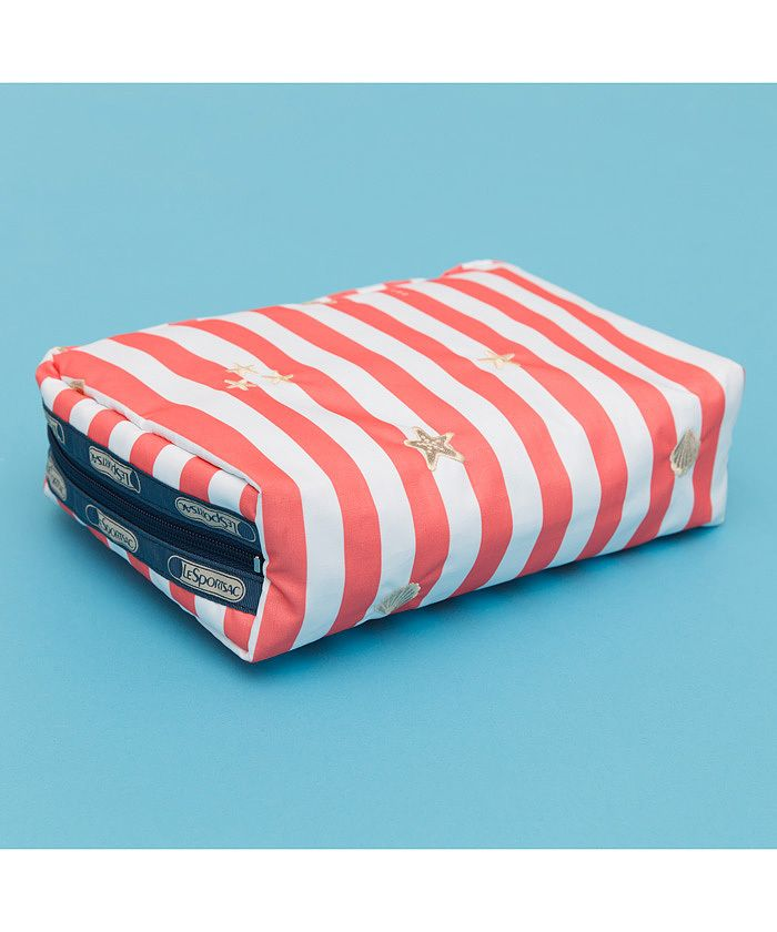 EXTRA LARGE RECTANGULAR COSMETIC トロピカルデライト | ポーチ | レスポートサック 公式通販 | LeSportsac Online Store