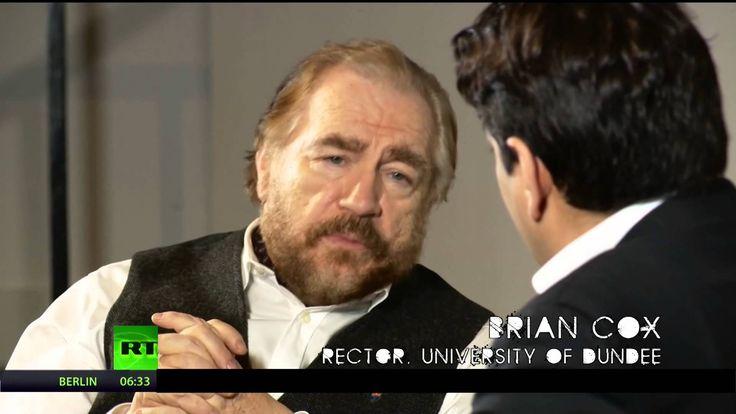 Actor Brian Cox on Scottish poverty (08Mar14)