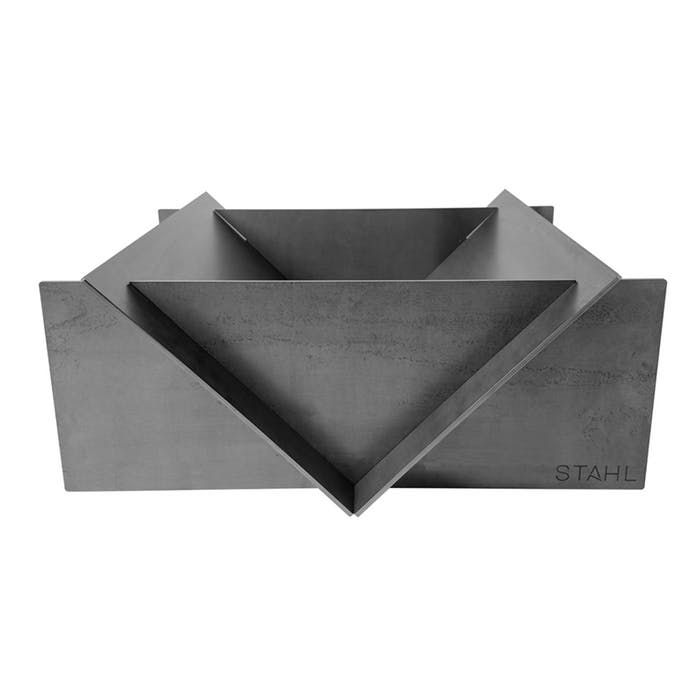 Stahl fire pit from steel.