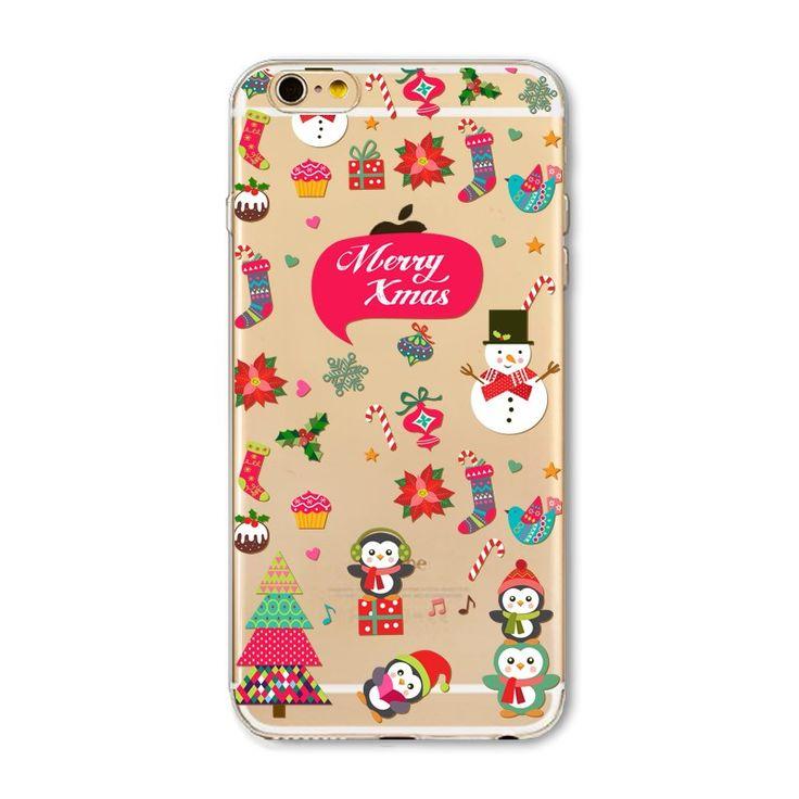 Cartoon Printed Cute Soft Case For iPhone - envíos gratis en todo el mundo